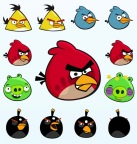 20 angry birds - 1