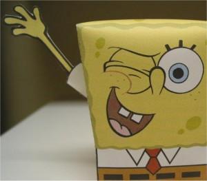 spongebob surprise maken