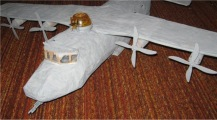 vliegtuig surprise maken