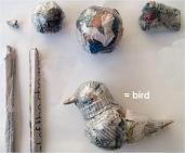 Slaapzak vogel zelf maken