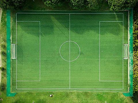 voetbalveld voetbal surprise maken