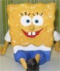spongebob 3d surprise maken